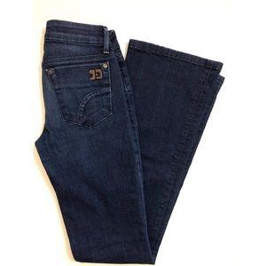 Joe's Honey Naomi Dark Boot Cut Jeans